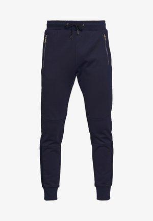 GENTS PANELLED JOGGER - Teplákové kalhoty - dark blue