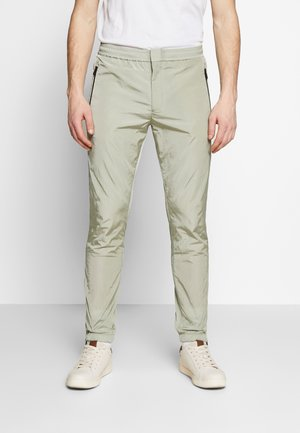 GENTS DRAWCORD TROUSER - Tracksuit bottoms - light green