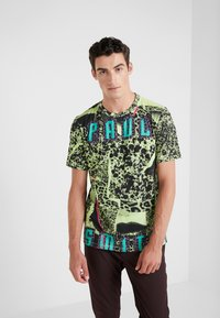 Paul Smith - GENTS T SHIRT - T-shirt con stampa - multi/yellow - 0