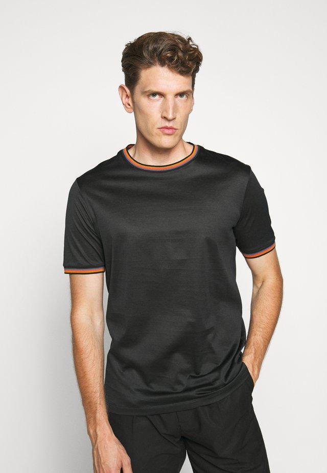 GENTS - Print T-shirt - dark blue
