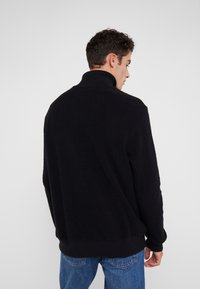 Paul Smith - GENTS ZIP COLLAR TOP - Strickpullover - black - 2