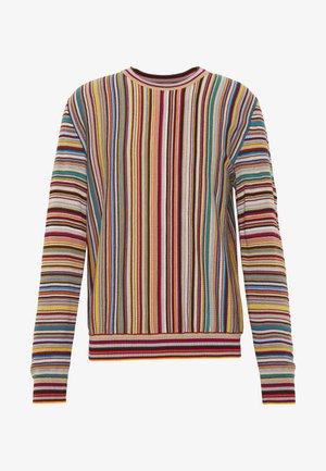 GENTS PULLOVER CREW NECK - Jersey de punto - multicoloured