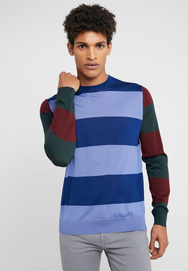GENTS CREW NECK - Stickad tröja - blue