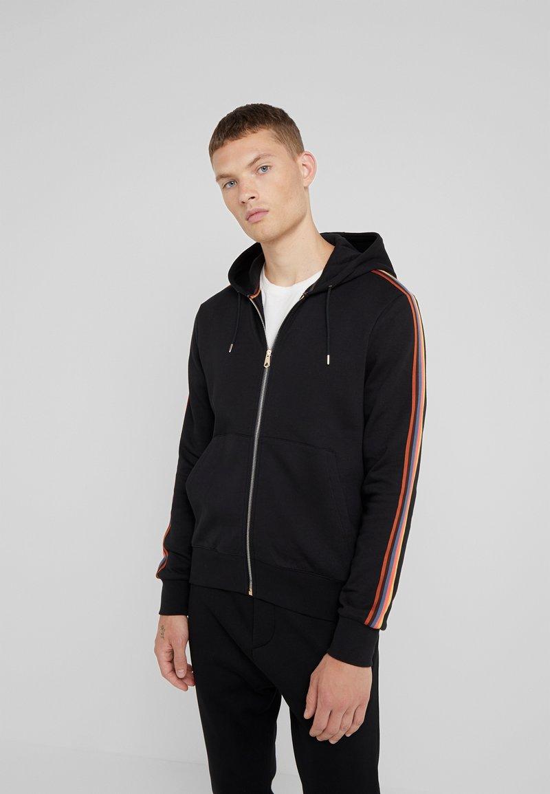 Paul Smith - GENTS ZIP THROUGH TAPED SEAMS HOODY - Zip-up hoodie - black