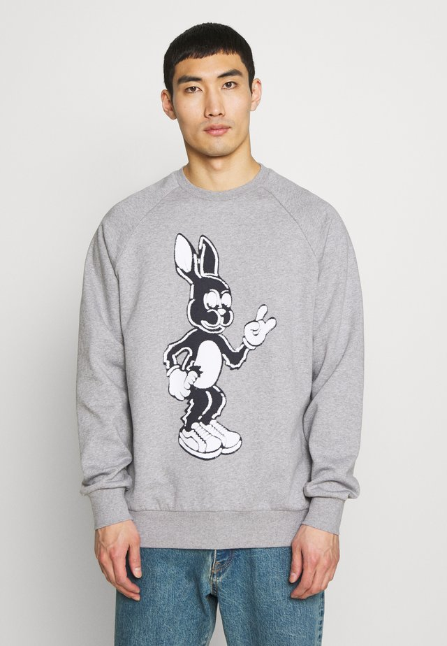 GENTS BUNNY PRINT  - Sweatshirt - grey