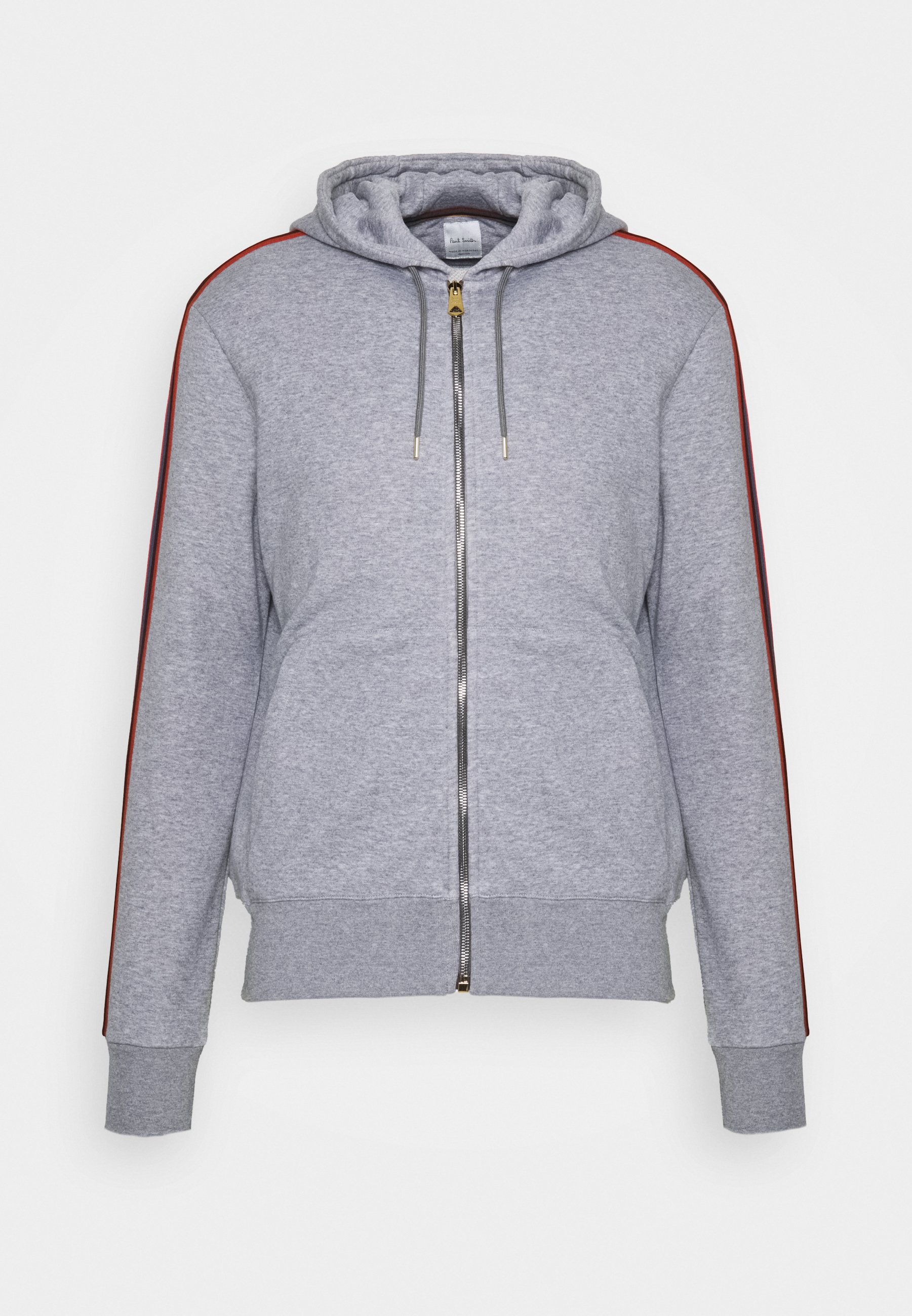 GENTS ZIP THROUGH TAPED SEAMS HOODY Sweatjakke Træningstrøjer mottled grey