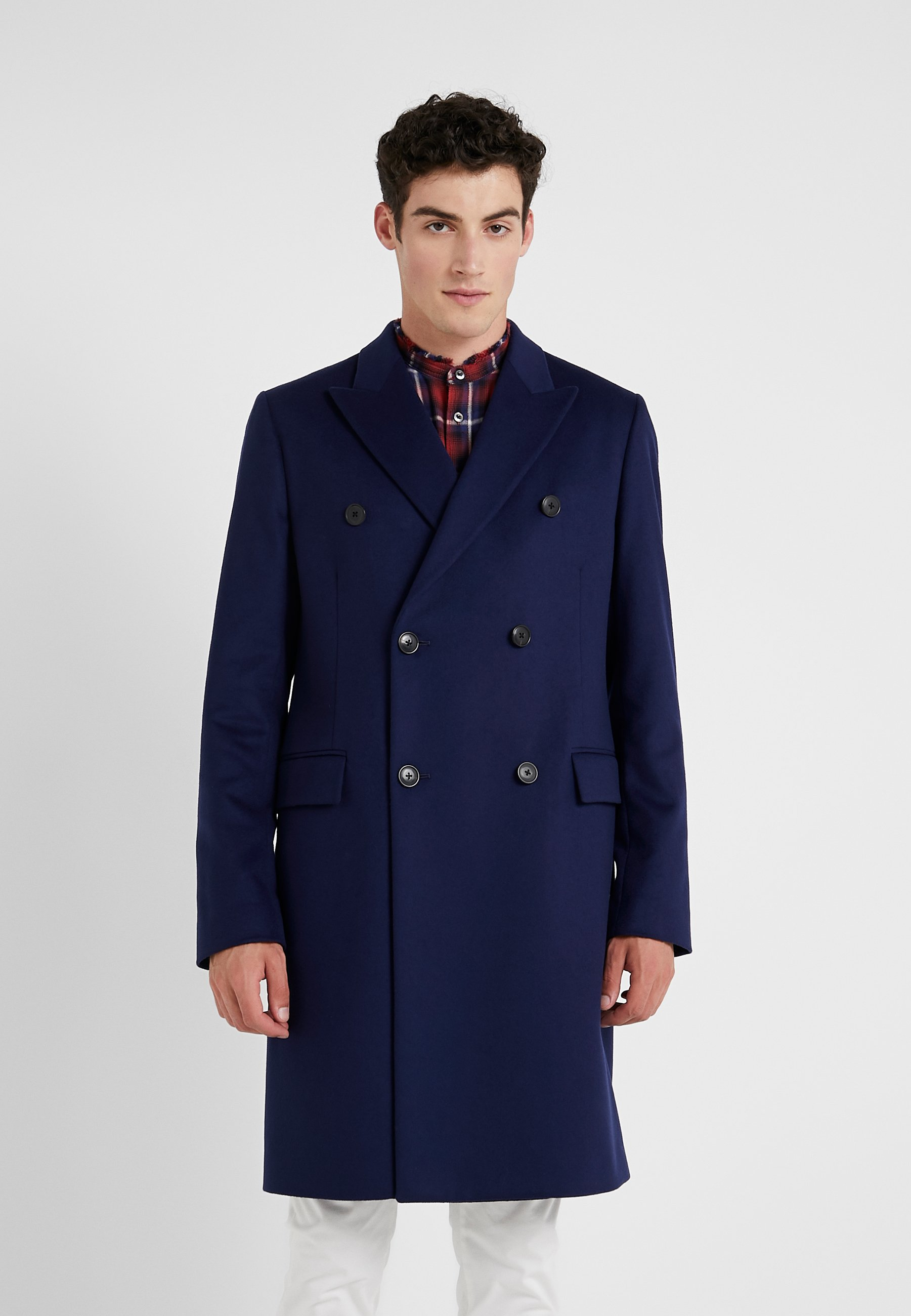 Smith Gents OvercoatManteau Paul Classique Blue nON8wPk0X