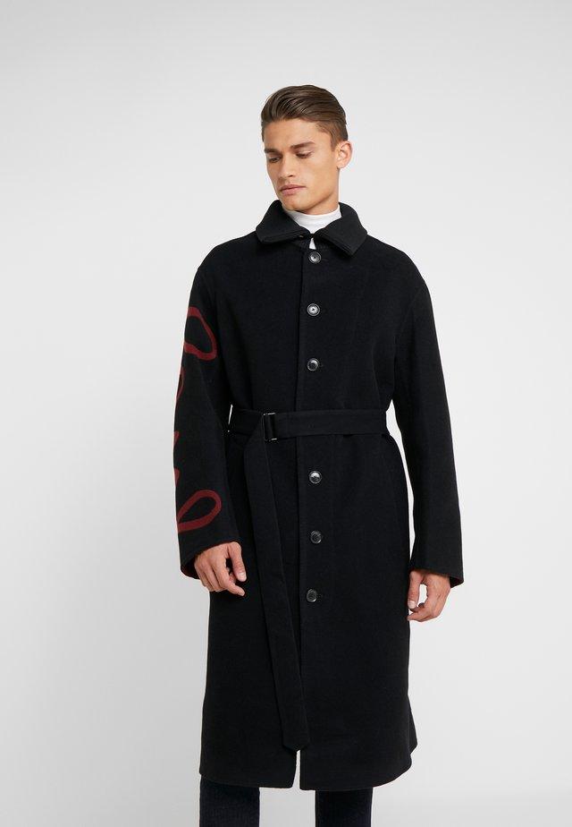 GENTS COAT - Wollmantel/klassischer Mantel - black