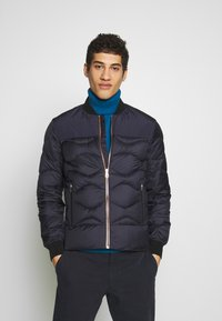 Paul Smith - GENTS BOMBER JACKET - Untuvatakki - dark blue - 0