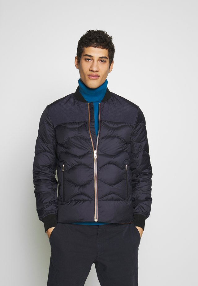 GENTS BOMBER JACKET - Down jacket - dark blue