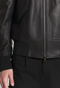 Paul Smith - GENTS JACKET - Kurtka skórzana - black - 6