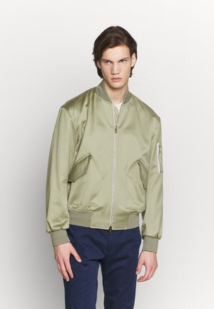 GENTS BOMBER JACKET - Bomberjacks - mottled light grey