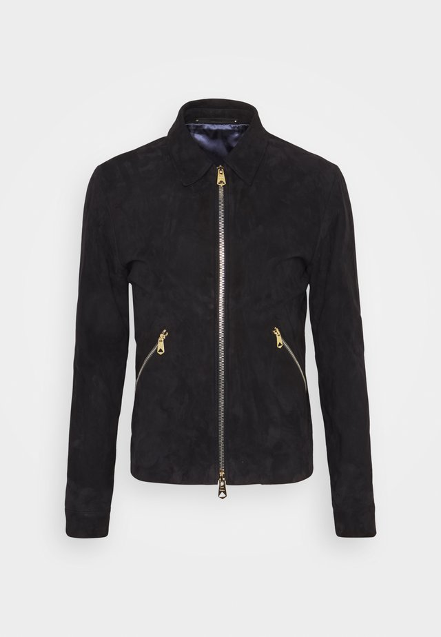 GENTS JACKET - Nahkatakki - dark blue