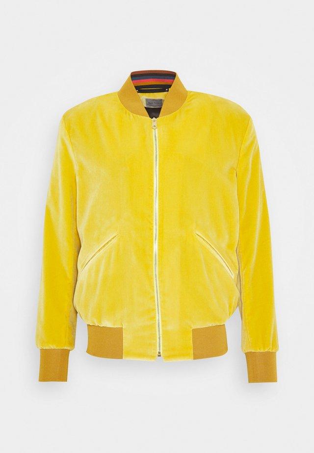 GENTS JACKET - Kurtka Bomber - yellow