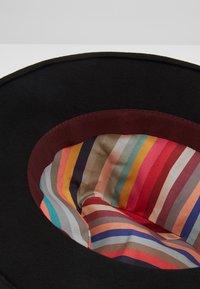 Paul Smith - WOMEN HAT FEDORA - Sombrero - black - 5