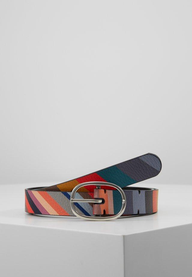 BELT SWIRL - Pasek - multicolor