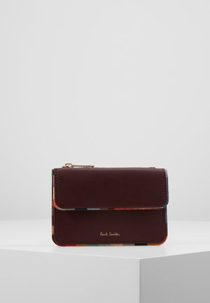 WOMEN PURSE ZIP - Monedero - burgundy