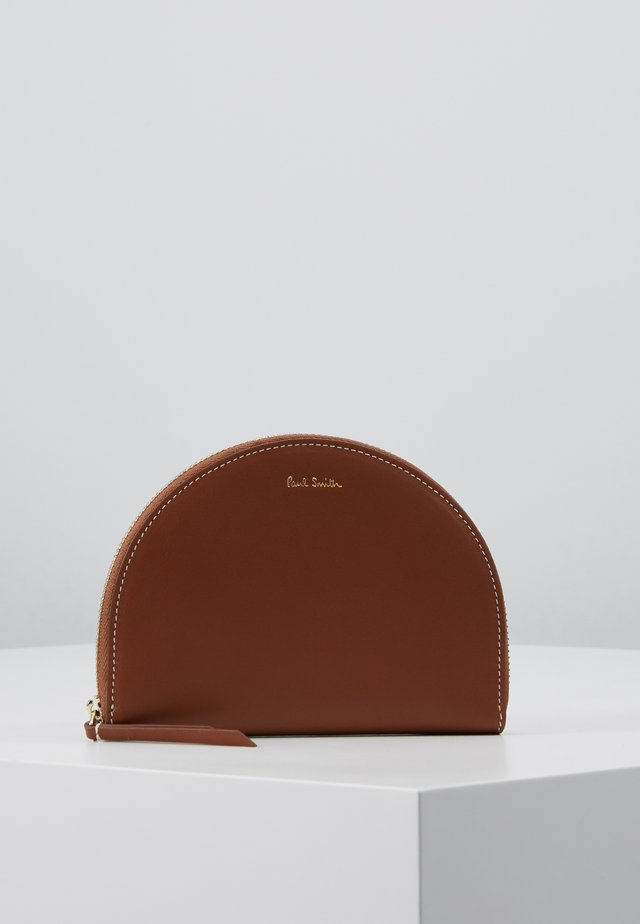 WOMEN PURSE ZIP COOKIE - Geldbörse - tan