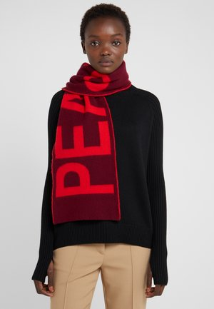 SCARF PEACE AND LOVE - Schal - red