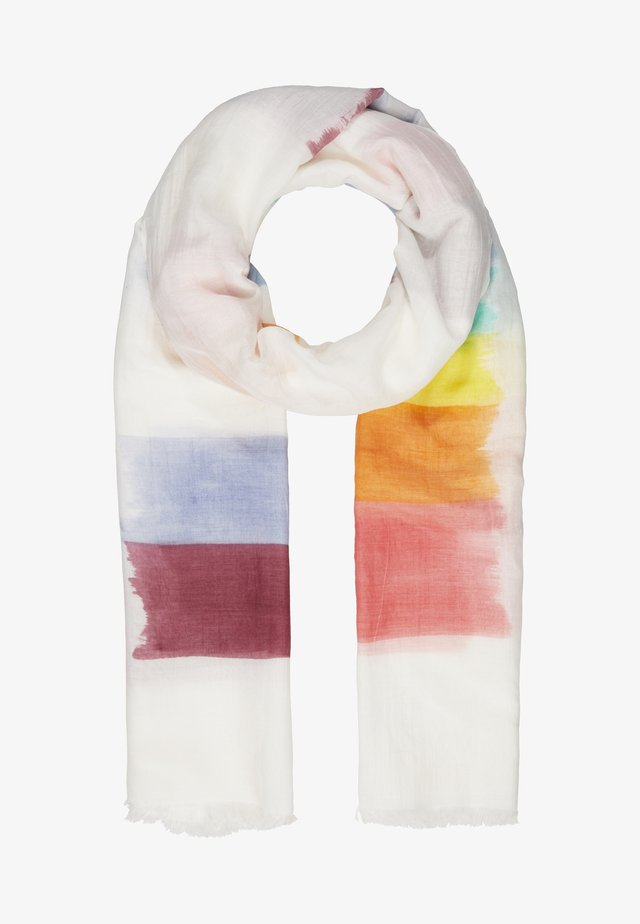 SCARF PAINTED STRIPE - Scarf - swirl