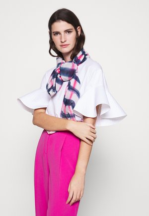 WOMEN SCARF TIE DYE - Šála - pink