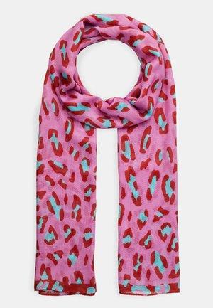 WOMEN SCARF LEOPARD - Schal - pink