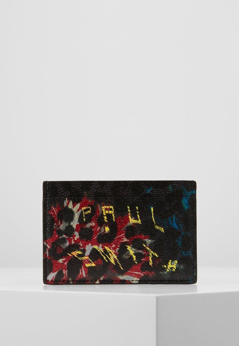 Paul Smith - WALLET LEOPARD - Portefeuille - black/multicolor