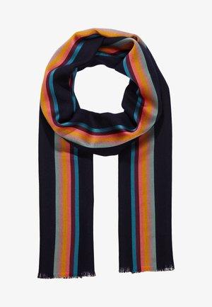 SCARF CENTRAL STRIPE - Szal - dark blue/multi-coloured