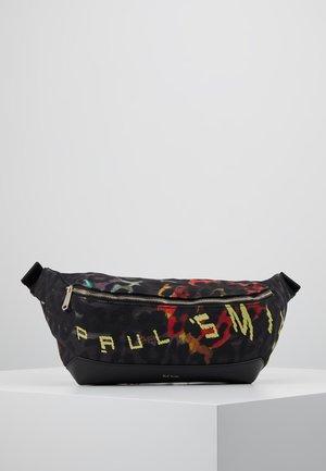 BAG WAIST STILL LEO - Marsupio - black/multi-coloured