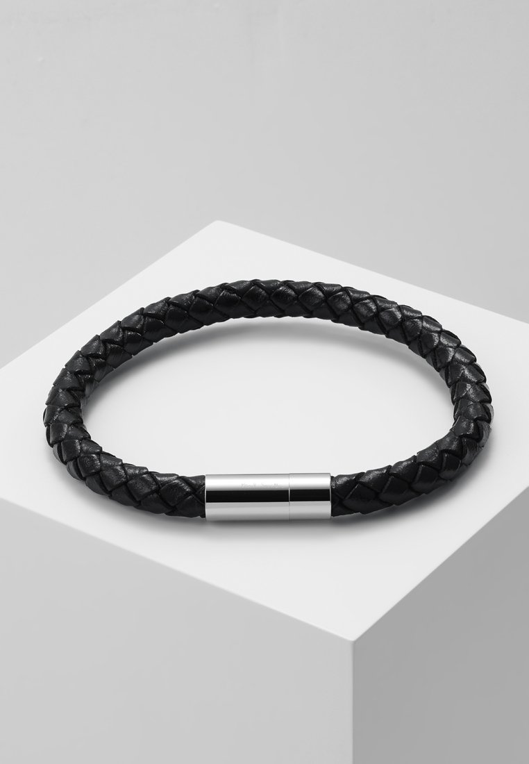 Paul Smith - BRACELET PLAIT - Náramek - black