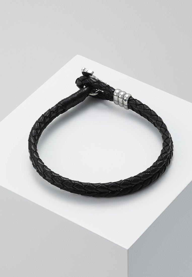 Paul Smith - MEN BRACELET ZEBRA - Bracelet - black