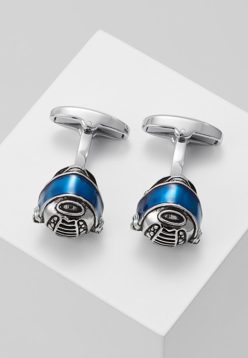 Paul Smith - CUFFINK HELMET - Cufflinks - silver-coloured