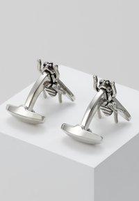 Paul Smith - CUFFINK WINGS - Spinka do mankietów - silver-coloured - 2