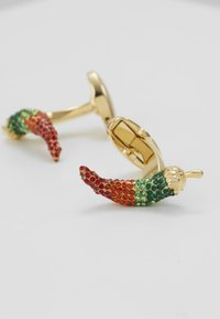 Paul Smith - CUFFLINK CHILLI - Manžetové knoflíčky - gold-coloured/multi-coloured - 3