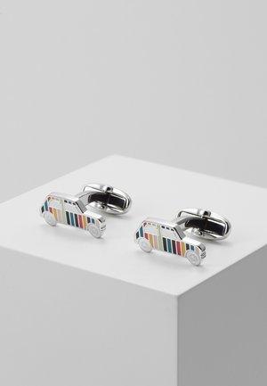 CUFFLINK MINI CAR - Manžetové knoflíčky - silver-coloured