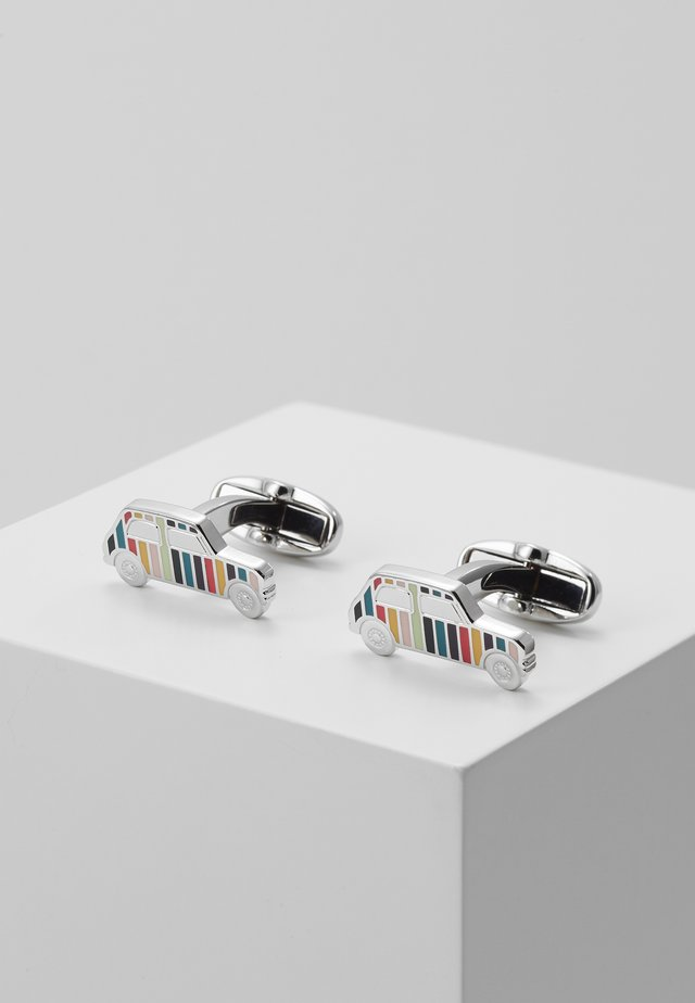 CUFFLINK MINI CAR - Cufflinks - silver-coloured