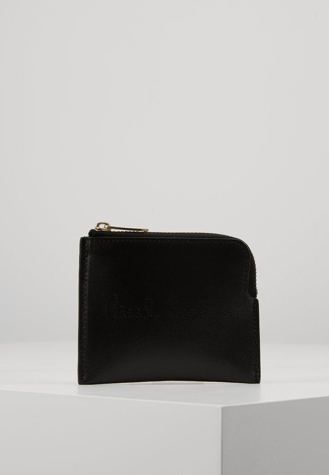 CORNER ZIP POUCH - Portfel - black