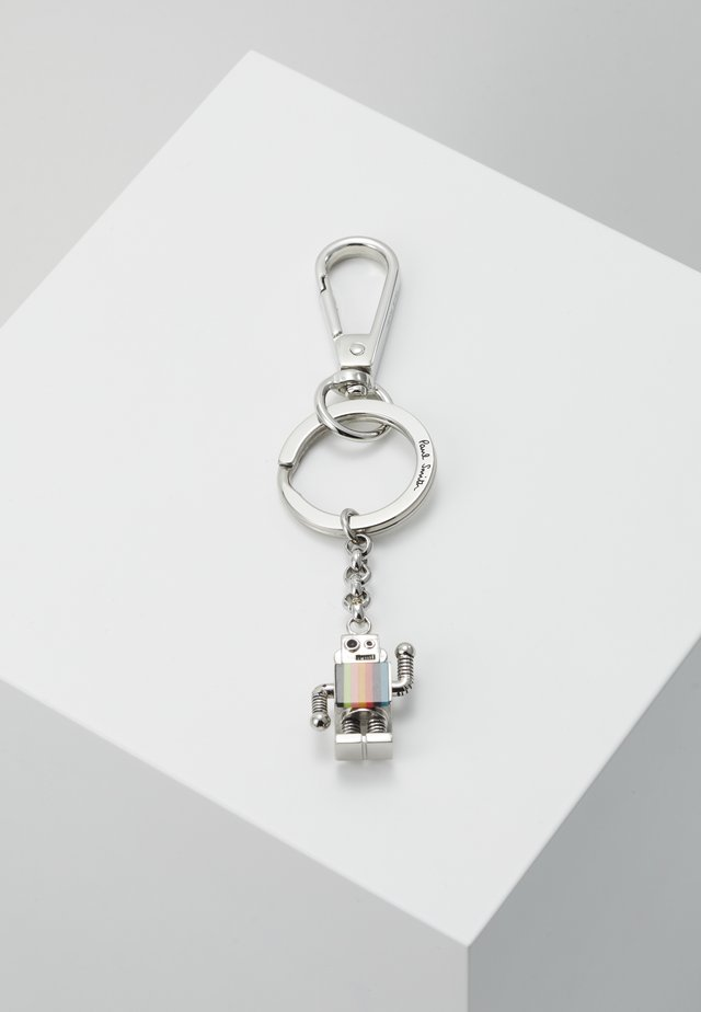 KEYRING ROBOT - Keyring - silver-coloured