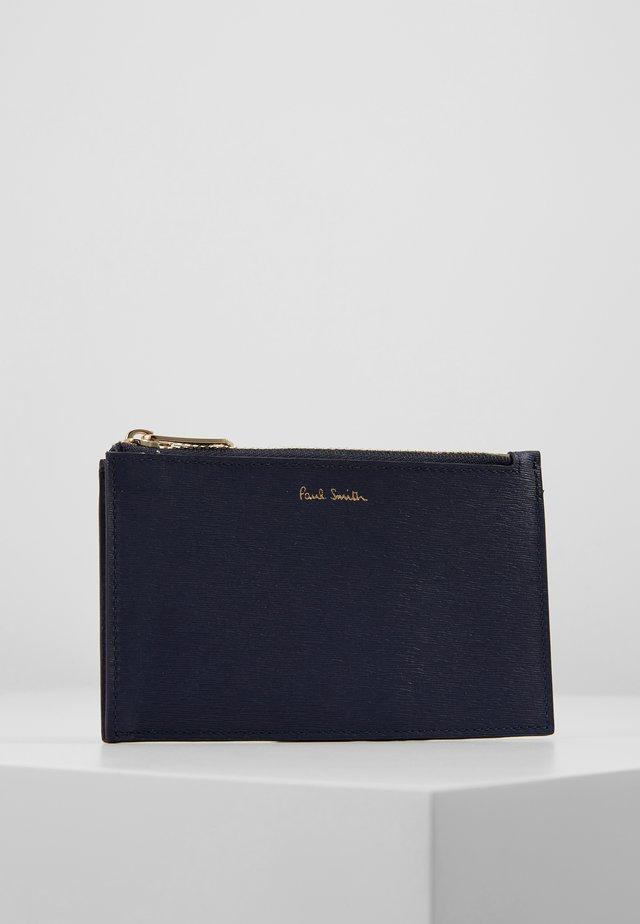WALLET POUCH STRAW - Peněženka - blue