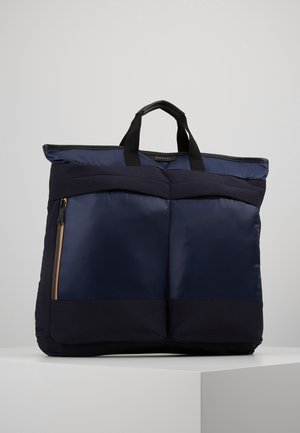 WAY STRIPE ZIP - Rucksack - blue