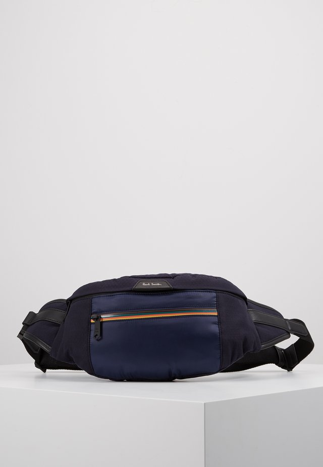 WAISTBAG STRIPE ZIP - Across body bag - blue