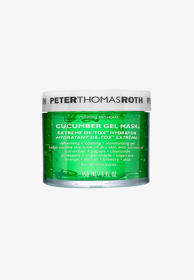 CUCUMBER GEL MASK 150ML - Face mask - neutral