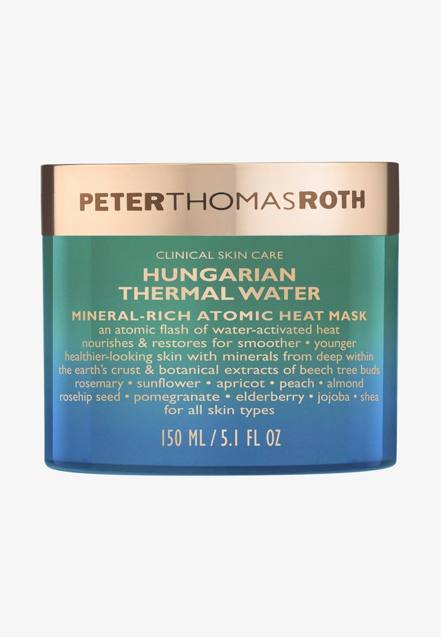 HUNGARIAN THERMAL WATER MINERAL-RICH ATOMIC HEAT MASK - Masker - -