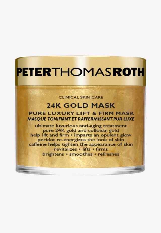 24K GOLD MASK 50ML - Ansigtsmaske - -