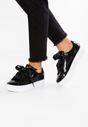 VIKKY PLATFORM RIBBON P - Sneaker low - black