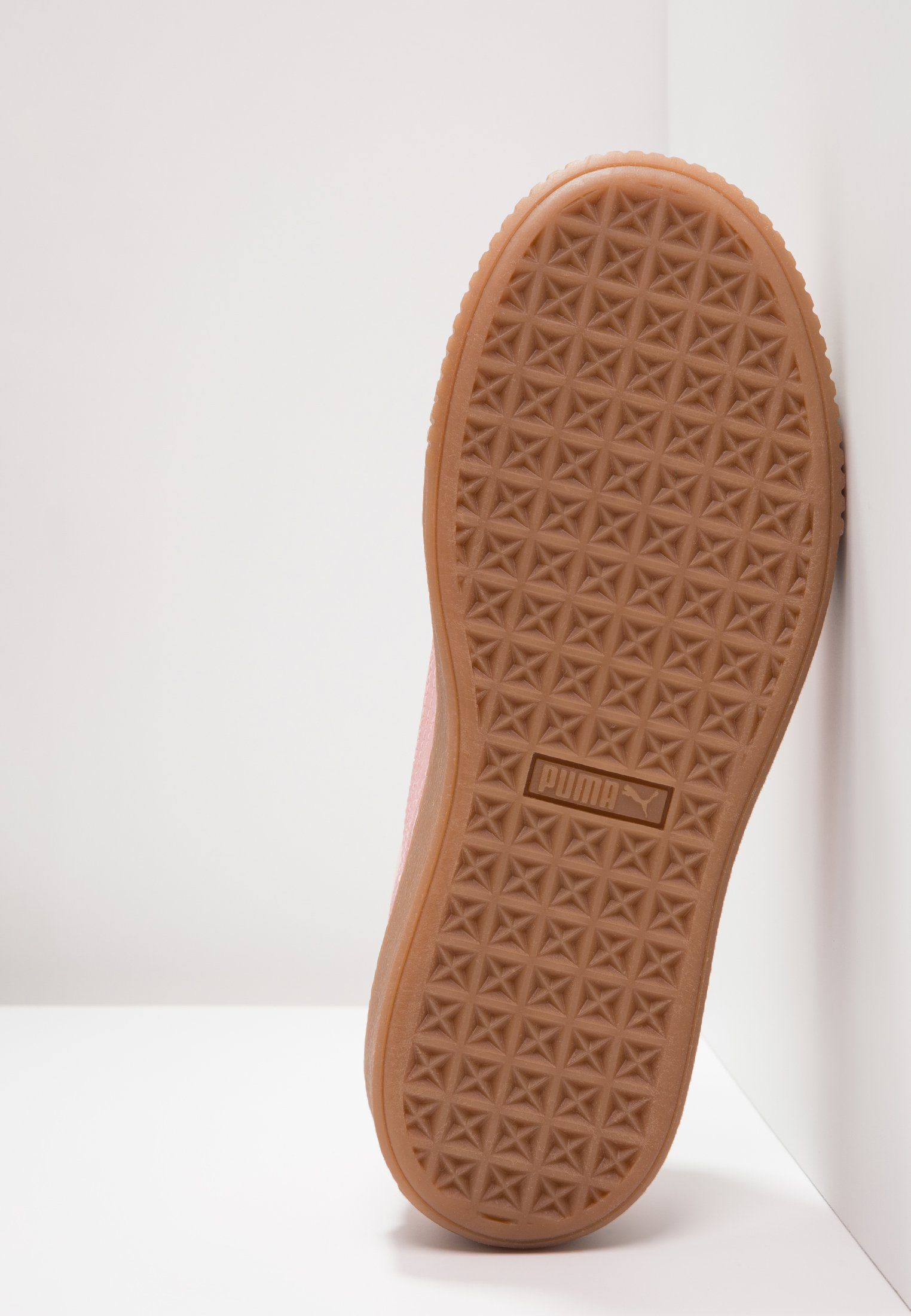 BASKET PLATFORM VS VELVET Sneaker low silverpinkgold