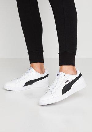 SMASH - Sneakers laag - white/black
