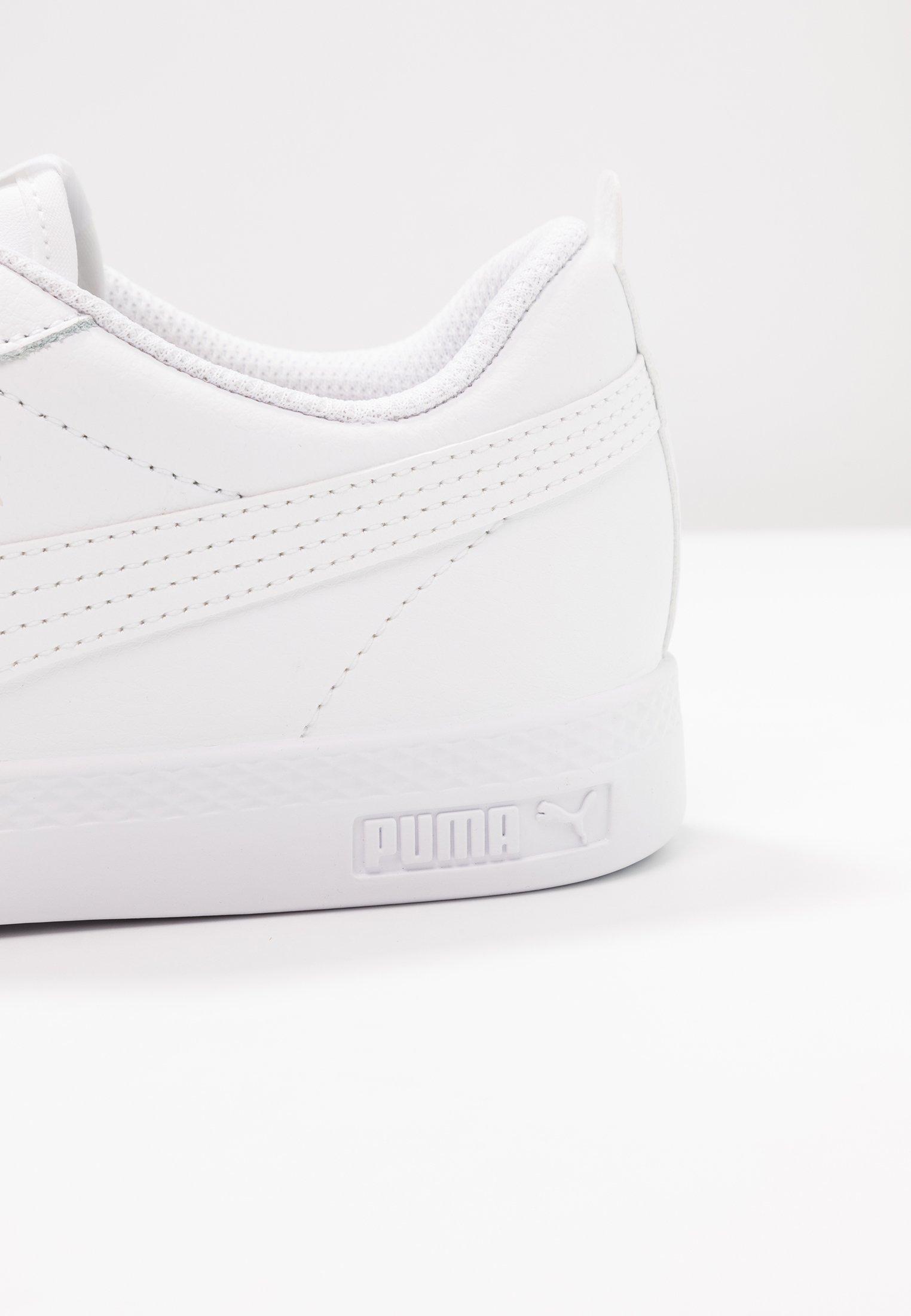 SMASH Baskets basses white