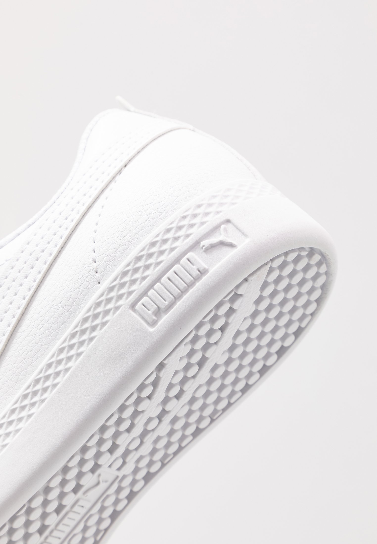 Puma SMASH - Sneakersy niskie - white/rosewater