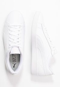 Puma - SMASH - Trainers - white/rosewater - 3